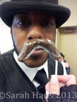 The Captain proves it's possible to be both fancy and silly at the Steampunk Empire Symposium